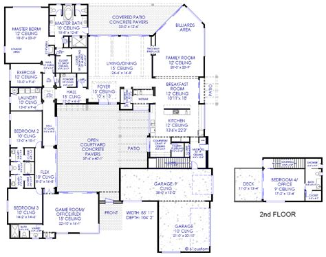 customized floor plans luxury modern house floor plans and home custom home