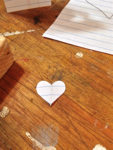 heart pattern wood wooden heart charm kid s woodworking project william and