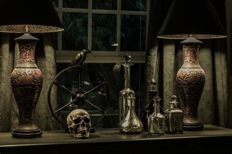 spooky home decor paul myrick