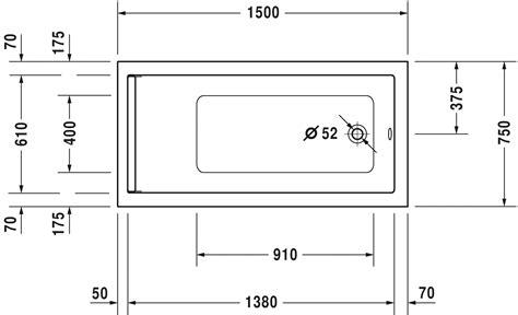 vasche da bagno misure standard vasche da bagno misure standard