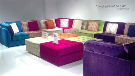 Colorful Sectional Sofa The Original Lounge Collection By Robert Petril Modern Sectional Sofas Philadelphia By