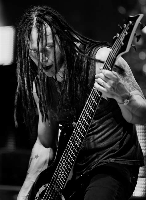 john moyer john moyer of disturbed standing in for rudy sarzo for 5