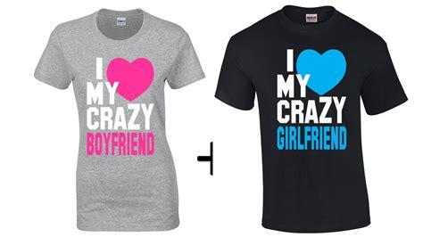 Matching Bf And Gf Shirts T Shirt I My Boyfriend