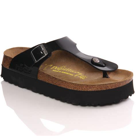 birkenstock platform sandals papillio by birkenstock gizeh s platform sandals