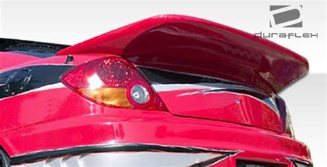 2003 Hyundai Tiburon Spoiler 2003 2008 Hyundai Tiburon Duraflex Racer Wing Spoiler 100459