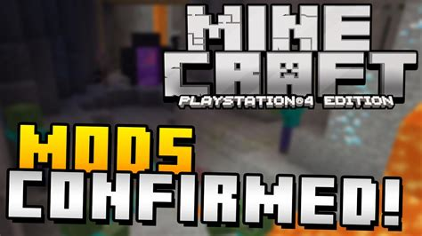 mods in minecraft xbox one edition mojang confirms mods on minecraft ps4 xbox one edition