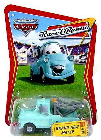 Mattel Disney Cars Race Team Mater Brand New disney cars the world of cars race o rama brand new mater 155 diecast car 19 mattel toys toywiz