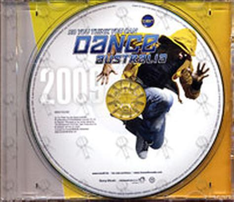 Cd Shakedown You Think You various artists so you think you can australia album cd records