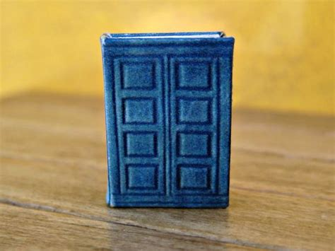 doctor who doll house river song s tardis journal in dollhouse miniature perfect for doctor who fans