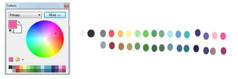 mlp pastel paint net colour palette re by cadpig1099 on deviantart