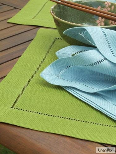 forest green table linens forest green linen placemat emil linenme
