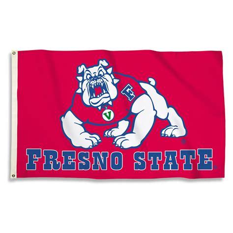 fresno state colors fresno state bulldogs 3 x 5 flag