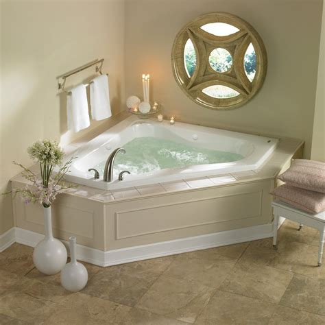 what is a jetted bathtub jacuzzi esp6060wcl1hxa almond 60 quot x 60 quot espree corner