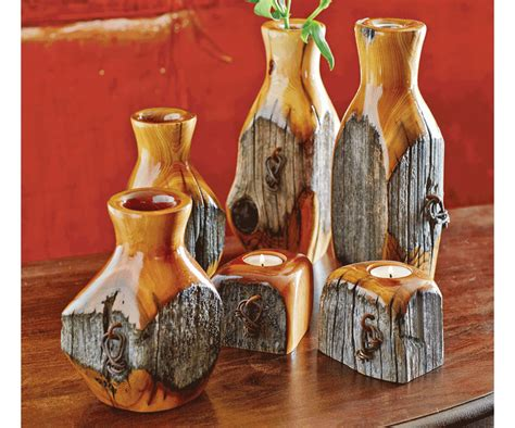 kerzenhalter vase talk to your hubby bet he can mimic this reclaimed fence