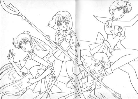 sailor saturn coloring coloring pages