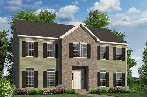 2 story homes meadowview two story style modular homes