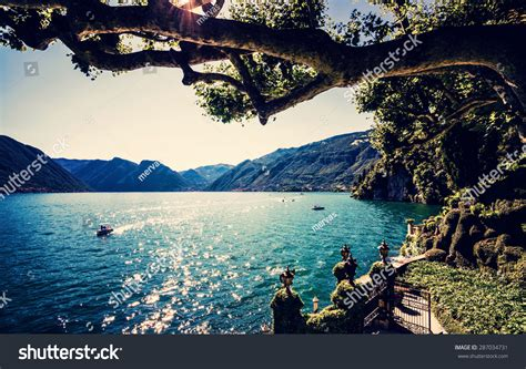 living on a boat for the summer lake como people on boat ride stock photo 287034731