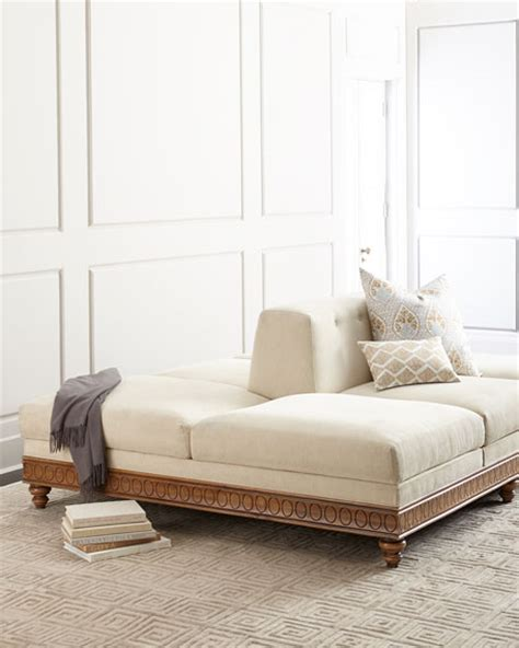 two sided couch serena double sided sofa