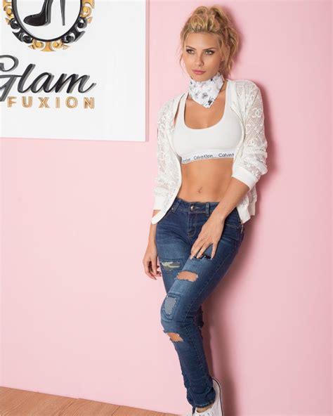 jeans para mujer newhairstylesformen2014 com jean rotos parche imagen principal glam fuxion