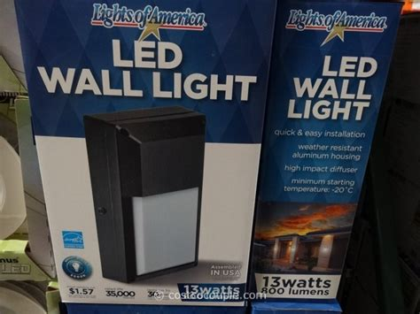 costco led l post costco led outdoor lights altair lighting outdoor led