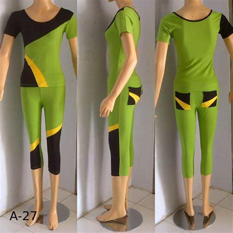Setelan Baju Wanita Baju Senam Sport Baju Santai Wa Limited 1 jual baju senam wanita xxxxl 5l jumbo big size besar sport