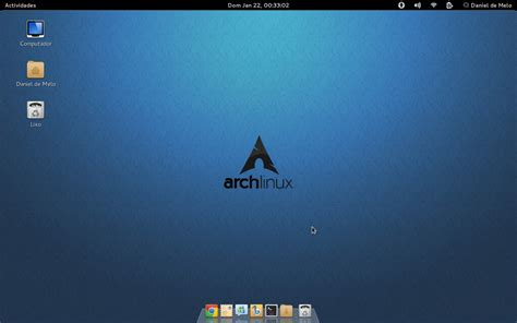 gnome themes for arch linux arch linux gnome 3 by idogzilla on deviantart