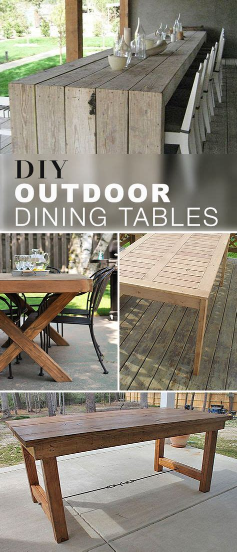 outdoor table tennis dining table 1000 ideas about outdoor tables on diy