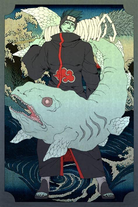 hoshigaki kisame naruto zerochan anime image board