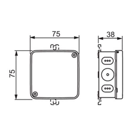 surface wiring pdf surface mounted junction box 75 x 75 mm ip65 ap75 abb