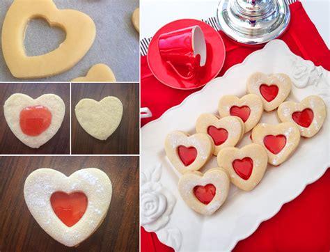 kalp kurabiye 199 ilek soslu kalp kurabiye