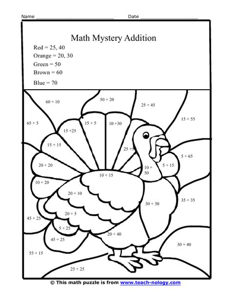 Free Coloring Pages Of Double Digit Addition Addition Coloring Pages