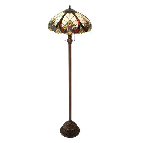 antique tiffany floor ls shop chloe lighting victorian 63 in dark antique bronze