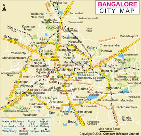 bangalore city map images general info for prospective and new faculty at iisc