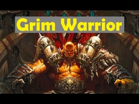 hearthstone deck rating hearthstone deck reviews 1 grim warrior mad bomber