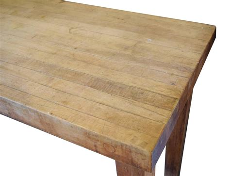 butcher block table tops butcher block table at 1stdibs