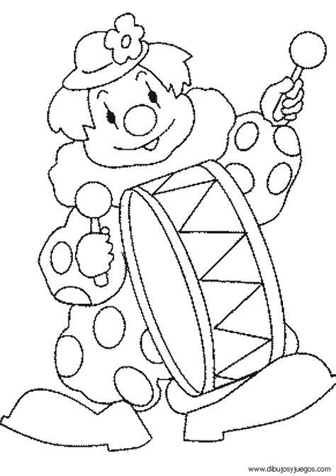 dibujos infantiles para colorear de payasos dibujos de payasos en el circo para colorear imagui
