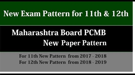 new pattern up board new question paper pattern for 11th 12th for pcmb