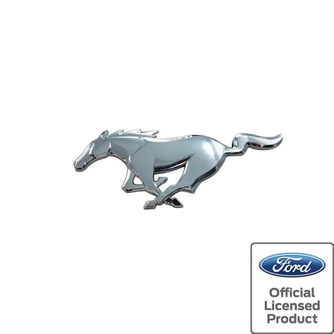 logo ford 2017 2015 2017 ford mustang pony front emblem chrome ford