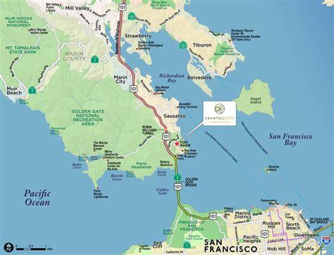 sausalito map paw technologies sausalito california