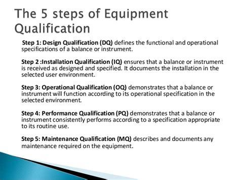 iq oq pq template concept of urs dq iq oq pq