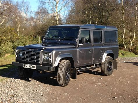 used land rover defender 110 for sale used 2005 land rover defender 110 td5 xs station wagon for
