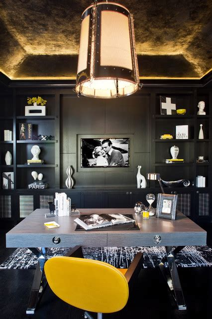 home office design los angeles denise richards residence contemporary home office