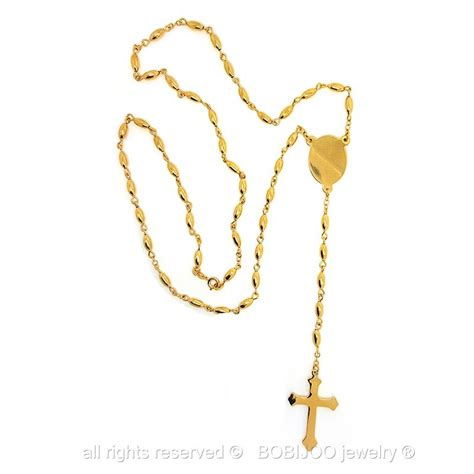cadenas de oro rosario rosario cadena de oro medall 243 n de jes 250 s de la virgen