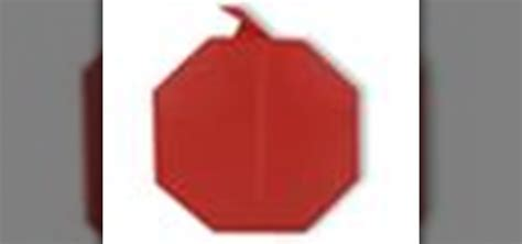 Origami Apple - how to origami an apple japanese style 171 origami