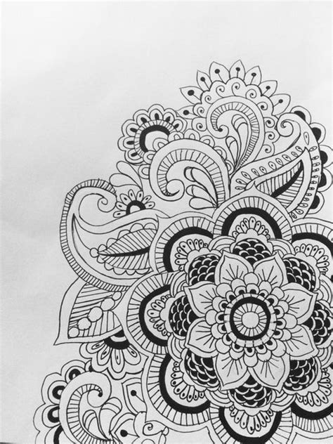 doodle weheartit paisley black and white search drawings