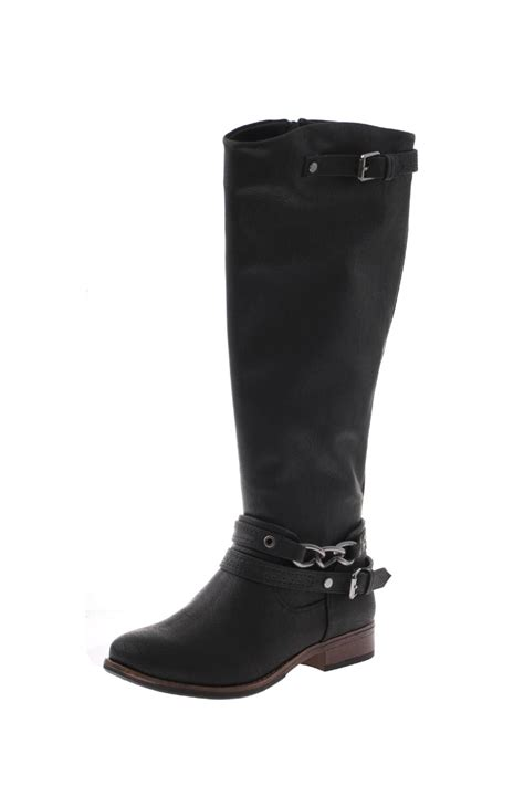 madeline vegan leather boots from columbus by your