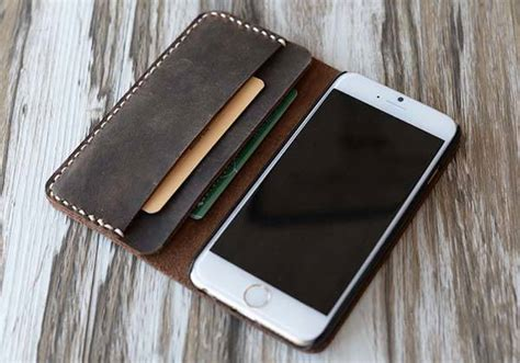 Handmade Leather Phone Cases - the handmade customizable leather iphone 6 plus and iphone