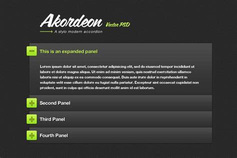 tutorial jquery accordion меню все виды нужного вам меню 187 меню аккордеон jquery