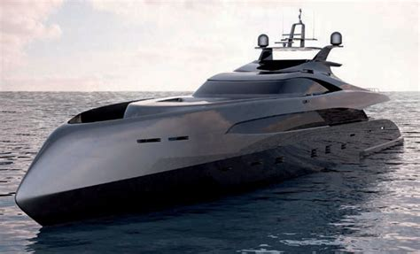 yacht speed er175 high speed megayacht concept from icon yachts ivan