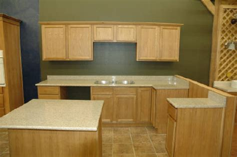 wood used for kitchen cabinets pre finished flat panel oak cabinets ready to assemble